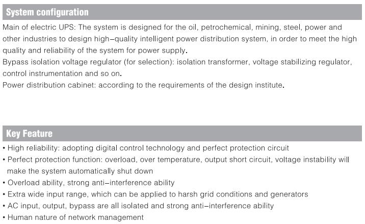 Industrial Power Level UPS DL3B10-120K (Industrial UPS)